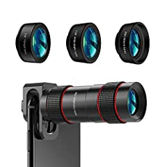 【Trend leading】Take part in the phone camera lens family,you will be one of the fashionable and stylish person in the world.Want to get a high definition, high quality and ultra long distance picture? Want to see the world on the different view? Choo...