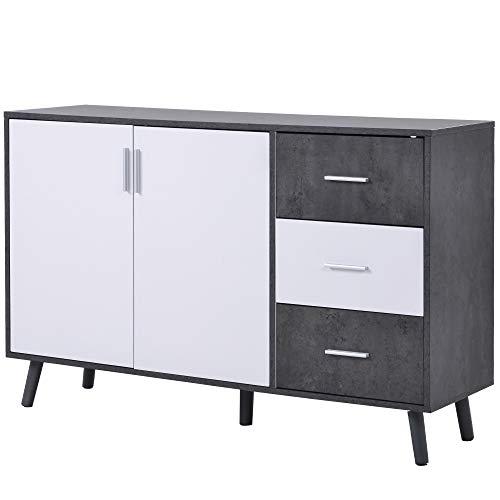 WYLZLIY-Home Meuble de Rangement Commode Armoire Cabinet De Rangement Au Buffet De Salon avec 3 Tiroirs De 3 Tiroirs