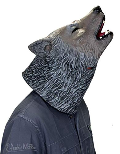 Archie McPhee Howling Wolf Mask