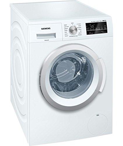 Siemens WM14T448IT Libera installazione Carica frontale 8kg 1400Giri/min A+++ Bianco lavatrice