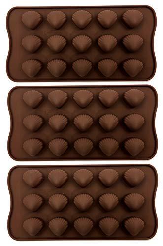 Bucanero silicone vorm - bonvorm van silicone - voor chocolade snoepjes ijsblokjes suikerglazuur bon- chocoladevorm ijsblokjesvorm zeepvorm