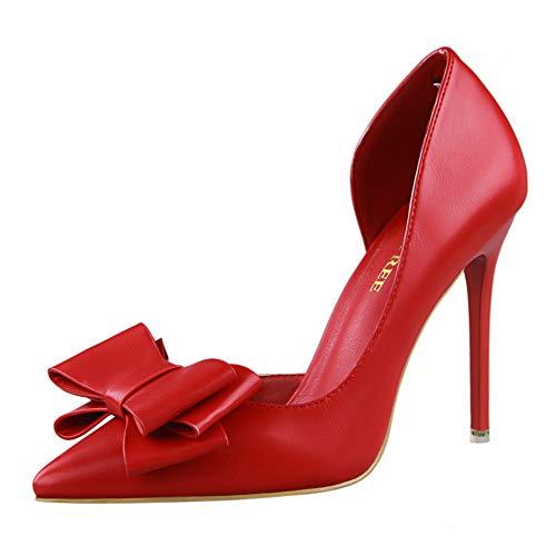 Moquite Mujer Zapatos de Tacón Zapatos Mujer Tacon Fiesta Sexy Clásico Stilettos...