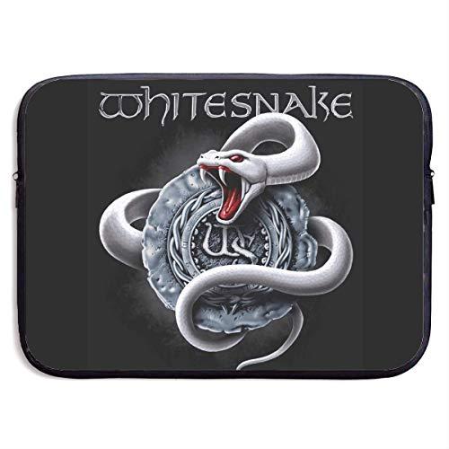 ytuytiutfi Whitesnake Laptop Bag Laptop Case Briefcase Messenger Shoulder Bag for Men Women 15 Inch Black