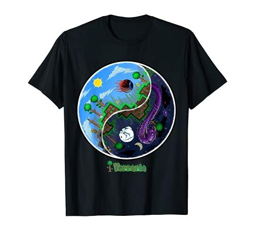 Terraria T-Shirt: Nacht und Tag
