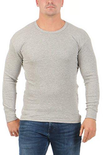 MATYFASHION heren thermo-onderhemd lange mouwen opgeruwd met binnenfleece/koude-bescherming winter/wintersport wandelen BF 40-1