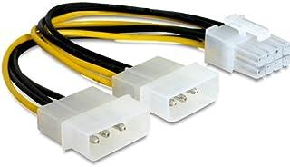 DeLOCK PCI Express Power - Cable (0,30 m, Multicolor)