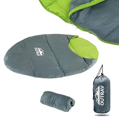 Outrav Dog Sleeping Bag - Camping Dog Bed - Extra Durable Waterproof Dog Sleeping Bag Bed - Packable...