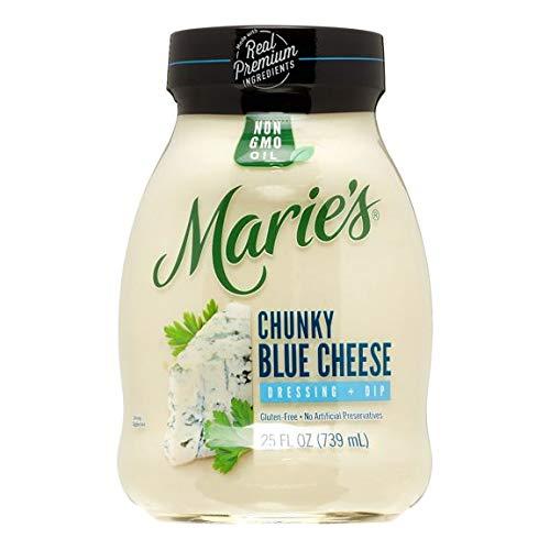 MARIE'S REFRIGERATED SALAD DRESSING CHUNKY BLUE CHEESE 25 OZ PACK OF 3