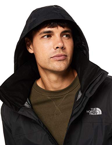 The North Face Men's Resolve Waterproof Jacket, TNF Black/TNF Black, XL
