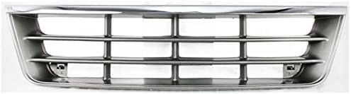 Koolzap For 92-96 E-Series 数量は多 Econoline デポー Asse Front Grille Grill Van