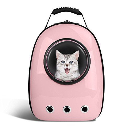 BlitzWolf Anzone Pet Portable Carrier Space Capsule Backpack, Pet Bubble Traveler Knapsack Multiple...