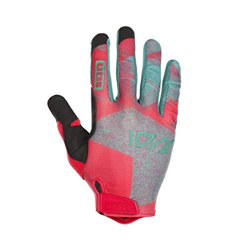 Ion Traze Fahrrad Handschuhe lang rot 2019: Größe: M