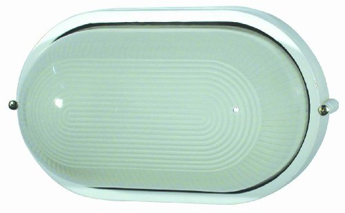 Faro Barcelona 72000 - DERBY Aplique, 60W, aluminio inyectado y cristal translucido, color blanco