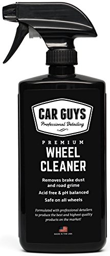 Wheel and Tire Cleaner  - Safe for all Wheels and Rims - Works on Alloy Chrome Aluminum Clear-Coated...