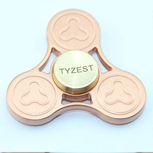 TYZEST Spinner Fidget EDC ADHD Focus Toy Ultra Durable High Speed 3-8 Min Spins Precision Copper material