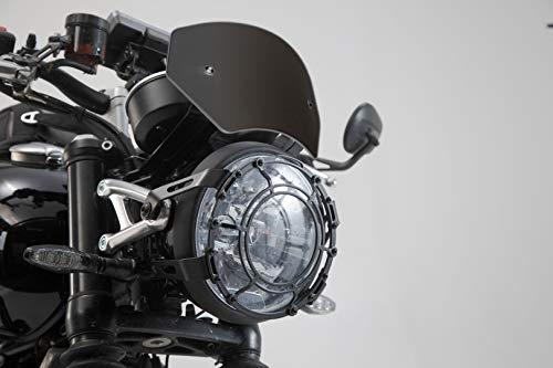 SW-Motech Motorrad Windschild Windabweiser aus Aluminium für Triumph Speed Twin