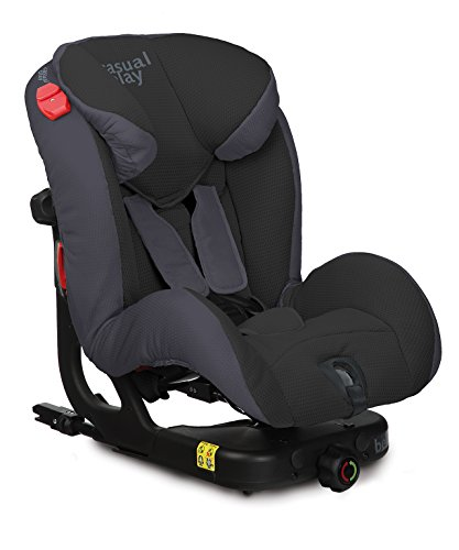 Casualplay Beat Fix - Silla de auto, color negro