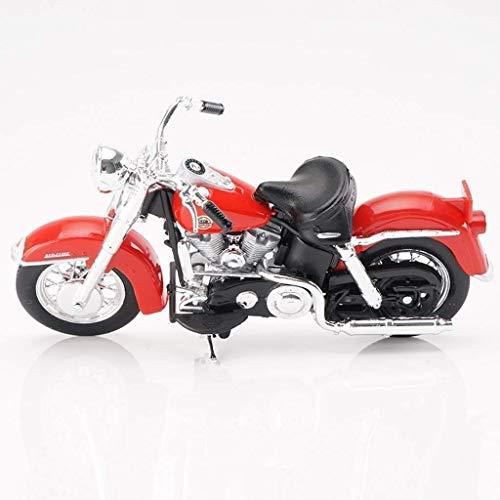 Yppss Modelo de juguete Modelo de motocicleta Harley HD-13 Road Locomotora Simulación Aleación de fundición a presión de juguete colección de joyería eternal