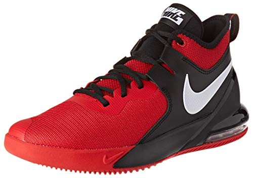 Nike Mens AIR MAX Impact Basketball Shoe, University Red/White-Black, 46 EU