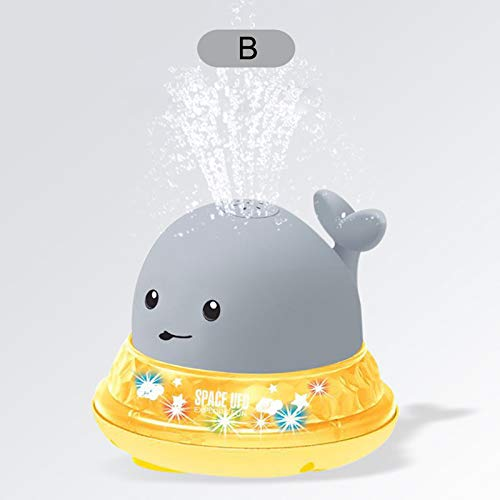 YZCH Baby Bath,Electric Light Induction Spray Ball Baby Bath Toy Luminous Water Ball Shower Toys Water Spray Toys