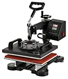 SHZOND Heat Press Machines Swing Away Heat Press 12x10 Inch Heat Press Machine for T Shirts