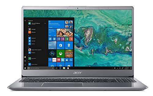 Acer Swift 3 SF315-52G-84LF Notebook con Processore Intel Core i7-8550U, RAM da 8 GB, 256 GB SSD, Display 15.6  FHD IPS LED LCD, Scheda Grafica NVIDIA GeForce MX150 2 GB GDDR5, Windows 10 Home, Silver