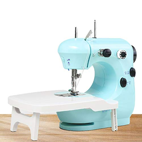 Why Should You Buy Portable Mini Sewing Machine for Beginners with Wallking Foot Extension Table LED