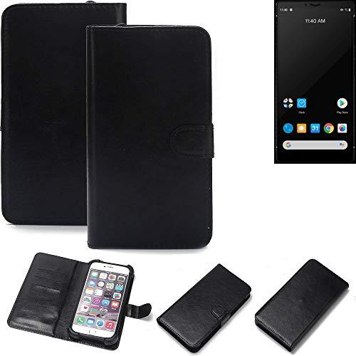 K-S-Trade® Handy Schutz Hülle Für Carbon 1 MKII Schutzhülle Bumper Schwarz 1x