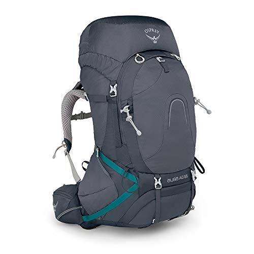Osprey Packs Pack Aura Ag 65 Backpack, Vestal Grey, Medium