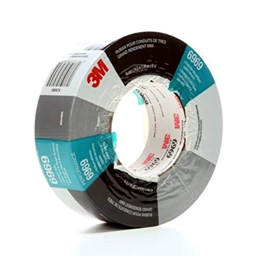 3M Company - 6969 Gray Duct Tape 48Mmx55M, Sold As 1 Each
