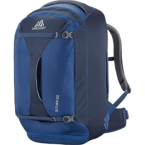 Gregory Mountain Products Praxus 65 Liter Men's Travel Backpack, Indigo Blue, One Size