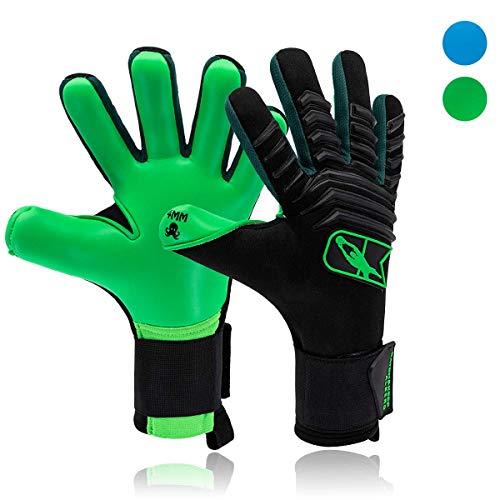 CATCH&KEEP Profi Torwarthandschuhe für Erwachsene - maximaler Grip - Premium Modell - Tormannhandschuhe Fussball - mit unserem Octopus Grip (Albero - Grün, 11)