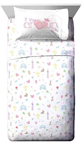 Jay Franco Disney Princess Mulan Sketch 1 Single Reversible Pillowcase Official Disney Product Double-Sided Kids Super Soft Bedding