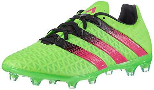 adidas Herren Ace 16.2 FG/AG Fußballschuhe, Grün (Solar Green/Shock Pink/Core Black), 43 1/3 EU