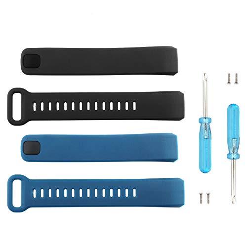 ENET - Correa de repuesto duradera para reloj inteligente Huawei Band 2 y Band 2 Pro