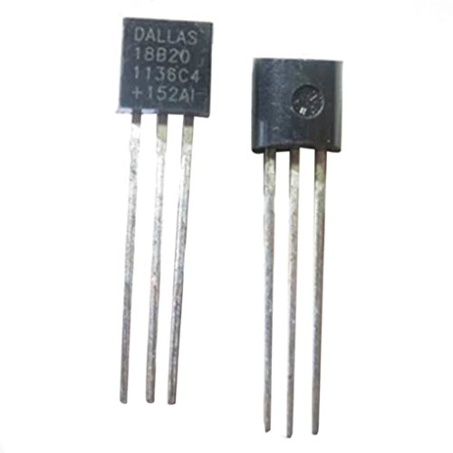 Lorjoyx 1PC Dallas 18B20 DS18B20 TO-92 Wire Digital Temperatura del termómetro IC Sensor