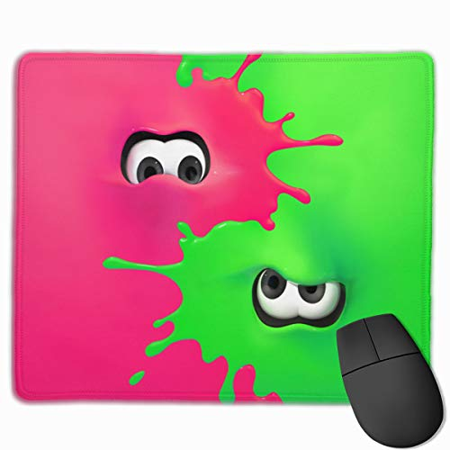 Splatoon 2 Gaming Mouse Pad, Multipurpose, Comfortable, Waterproof Mousepad Desk Mat for Gamer, Office & Home