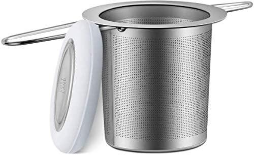 Cosyland Tea Infuser 18 8 Stainless Steel Tea Strainer Tea Filter Loose Tea Infuser Mesh Strainer product image