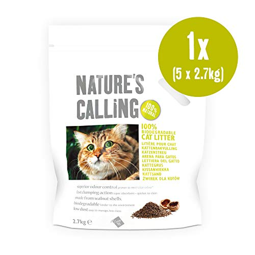Nature's Calling Cat Litter Pouch 1x(5x2.7kg),...