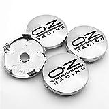 Without Casquillos de Centro Casquillos del Centro de rued For OZ Racing 4pcs 56mm y 60 mm Emblem Wheel Center Caps Caps Badge Cubre el Estilo de automóvil Accesorios de automóviles (Color : Y4)