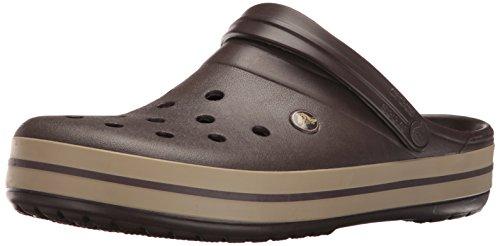 Crocs Crocband U 11016' Clogs, unisex, bosgroen, 39.5 EU