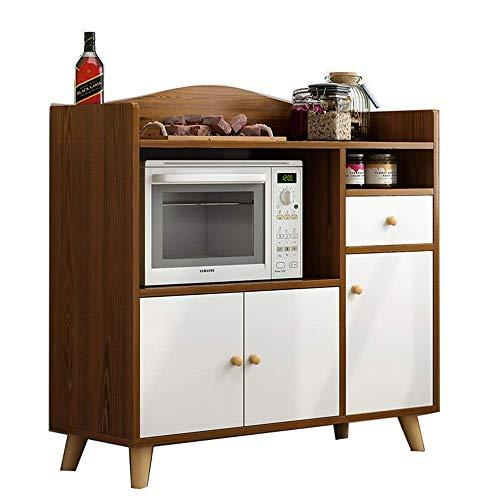 N/Z Home Equipment Sideboard Sideboard Buffet Credenza Akzent Servierschrank mit Küchen-Esskonsole Wohnzimmer Geeignet für Wohnzimmer Eingangsbüro (Farbe: Weiß Größe: 90x40x90cm)
