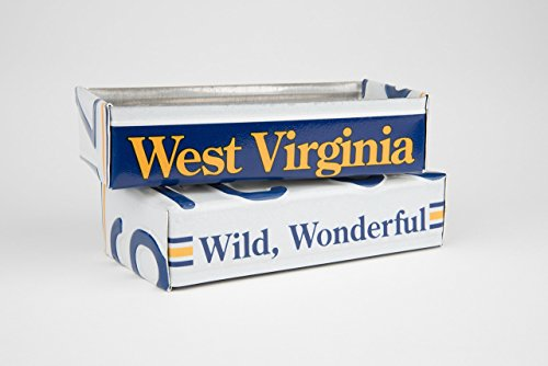 West Virginia license plate box - West Virginia Father's Day gift - West Virginia Graduation Gift