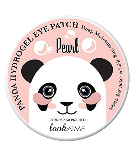 Look at me - Panda hydrogel Eye Patch Pearl, Parches Antiojeras, 30 pares