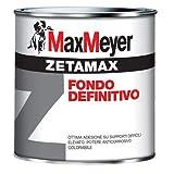Maxmeyer 020476C400001 Fondo antiruggine Zetamax Grigio 0,5 L, 0.5
