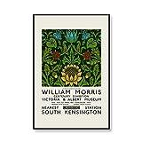 Zusammenfassung William Morris Flower Wandkunst Ausstellung