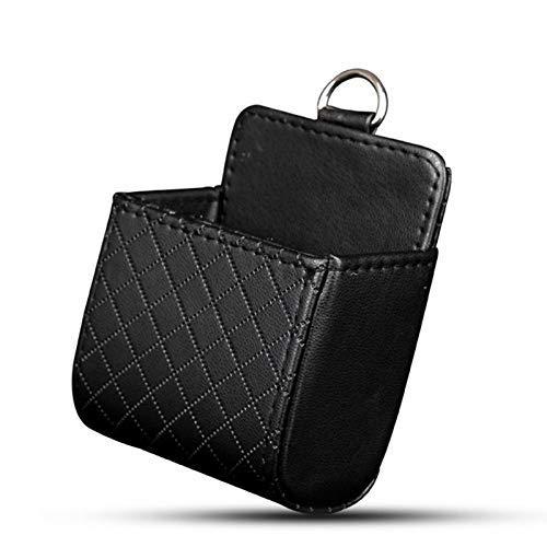 GJNVBDZSF Car Rubbish Bin Car Air Vent Mobile Cellphone Pocket Bag Mini Portable Storage Bag Pouch Box Storage Organizer Carrying Case