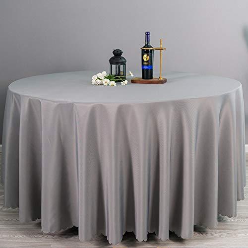 LIUJIU Home Tischdecke Tischtuch Tafeldecke abwaschbar schmutzabweisend Lotuseffekt ,3.4m