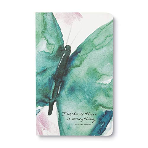 """Write Now Journal by Compendium: """"Inside us there is everything."""" — Softcover with periodic typeset quotations, 128 lined pages"""
