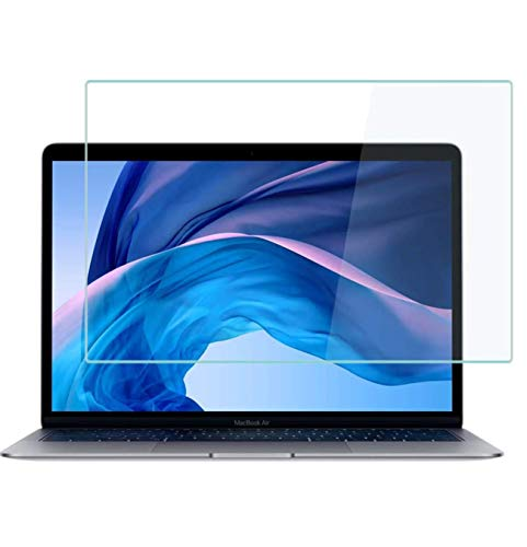 MUBUY Tempered Glass Screen Protector for MacBook Air 13 2020 2019 2018 Model A2337 M1 A2179 A1932 |New MacBook Pro 13 Inch 2020-2016 Model A2338 A2289 A2251 A2159 A1706 A1708 9H Hardness [No Bubble] [Reduce Fingerprint] [0.15mm]